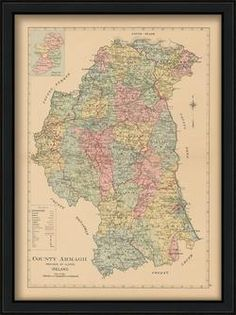 39 Best ireland county maps images