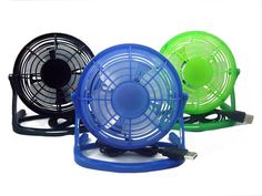 Usb Table Fan In Different Color