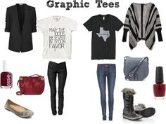 How I would style Graphic Tees