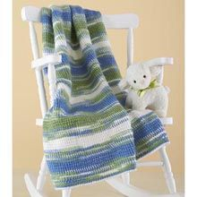 Herrschners® A Little Tunisian Baby Afghan Crochet Afghan Kit