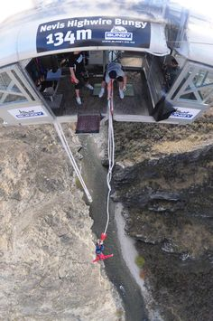 NEVIS Bungy - Would love to do again #greatwalker