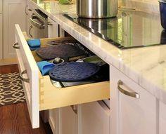 Luxury Kitchen Cabinet Drawer Accessories