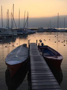 Nyon Morning light February 2015 - Vaud Switzerland