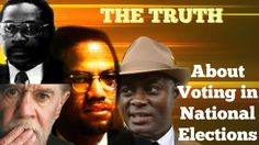 Malcolm X, Khalid Muhammad, Amos Wilson, and George Carlin on Voting in ...