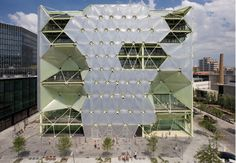 Cloud 9's Incredible Inflatable Bubble Building Now Open in Barcelona | Inhabitat - Sustainable Design Innovation, Eco Architecture, Green B...