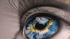 realistic eye painting acrylic - realistic eye painting + realistic eye painting acrylic + realistic eye painting oil + realistic eye painting step by step Realistic Pencil Drawings, Pencil Art Drawings, Cool Art Drawings, Colorful Drawings, Art Drawings Sketches, Easy Drawings, Eye Drawing Tutorials, Drawing Ideas, Realistic Eye Drawing