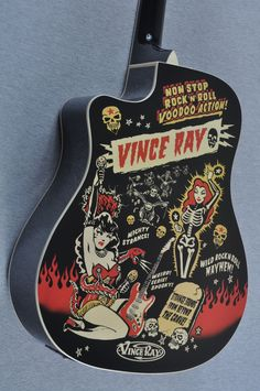 Vince Ray Voodoo Acoustic