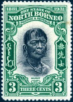 1931 Cincuentenario de la fundación del Estado North Borneo. (1/5)