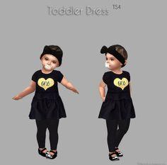 Sims 4 Toddler Lookbook