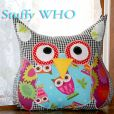 Designer's fabric, patterns and trims. Owl Sewing Patterns, Softies, Plushies, Cute Plush, Cute Owl, Felt Crafts, Fabric Design, Diaper Bag, Craft Supplies
