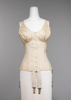 Corset Ferris Brothers Company (American, founded 1878) Date: 1910–11 Culture: American