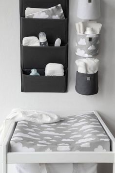 The Only Girl in the House Internet-Tagebuch gives great interiors inspiration for grey nursery, gray nursery, baby room, baby bedroom, kids bedroom. grey changing table with Farg Form scandi change mat. Baby Bedroom, Baby Boy Rooms, Baby Boy Nurseries, Baby Room Decor, Nursery Room, Room Baby, Bedroom Kids, Baby Nursery Ideas For Girl, Newborn Room