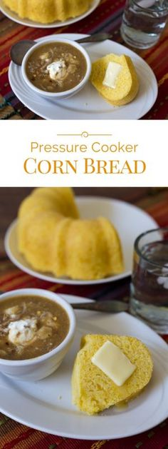Pressure Cooker Cornbread is great any time of year, but it's especially nice in the summer when you don't want to heat up the house using the oven.