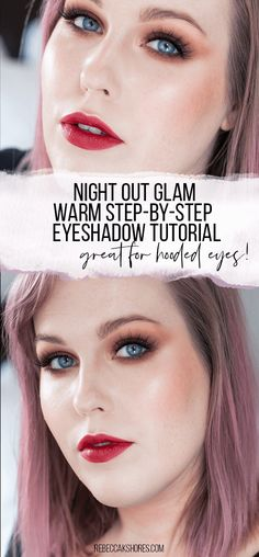 Night Out Glam Warm Step-by-Step Eyeshadow Tutorial │ Capsule Makeup Collectio. - Night Out Glam Warm Step-by-Step Eyeshadow Tutorial │ Capsule Makeup Collection — rebeccakshore - Black Eye Makeup, Dramatic Eye Makeup, Cat Eye Makeup, Makeup For Green Eyes, Glam Makeup, Kylie Jenner Makeup Collection, Makeup Geek Palette, Makeup Forever Hd Foundation, Rare Eye Colors
