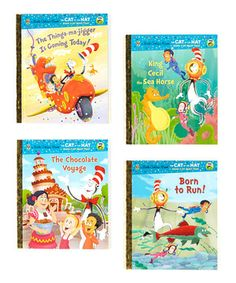 Cat in the Hat Hardcover Set by Little Golden Books #zulily #zulilyfinds
