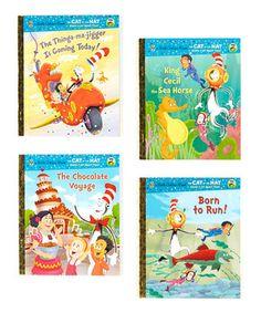 Cat in the Hat Hardcover Set by Little Golden Books #zulily #zulilyfinds