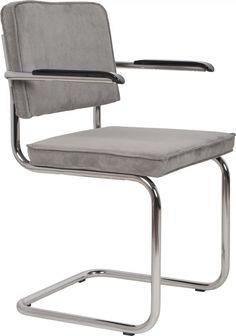 De stoelen Ridge Rib van Zuiver zijn nu ook verkrijgbaar in het lichtgrijs. Helemaal hip en het is een makkelijke kleur om...