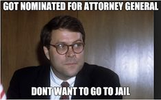 Alexis Assadi Memes: William Barr was nominated to be the next Attorney. Attorney General, The Next, Memes, Blog, Animal Jokes, Meme