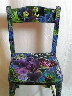 Image result for gypsy painted wooden chair