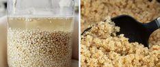 """Ačkoliv se quinoa častokrát mylně považuje za bezlepkovou obilninu, jedná se ve skutečnosti o vysoce výživná zeleninová semena. Quinoa je zelenina příbuzná řepě a špenátu, která obsahuje kompletní bílkoviny se všemi 9 esenciálními aminokyselinami, což je u zeleniny velmi vzácné. Když se řekne """"kompletní bílkoviny"""", napadne nás rýže a fazole, protože pouze kombinace těchto dvou"""