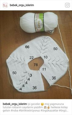 Se montan 74 puntos y las divThis post was discovered by ilknur. Discover (and save!) your own Posts on ilmek Discover thousands o Diy Crafts Knitting, Diy Crafts Crochet, Easy Knitting Patterns, Knitting For Kids, Knitting For Beginners, Crochet For Kids, Knitting Stitches, Knitting Designs, Baby Patterns