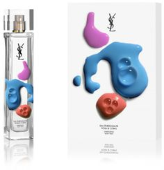 YSL's fragrance created by German graphic designer Axel Peemoeller. The perfume feels extremely contemporary and edgy, nice contrast to the uber simple and sleek bottle.