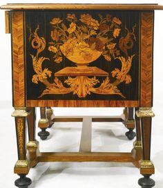 Людовика XIV золочение эбен, кингвуд, фруктовые деревья и маркетри бюро brisé, в манере Пьера торговый район gole <ет>ноги позже</ем> | | лот Сотбис