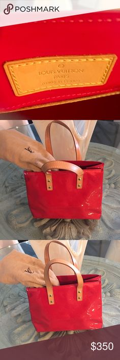 0ef2a427a604 Shop Women s Louis Vuitton Red size OS Mini Bags at a discounted price at  Poshmark. A great pop of color.