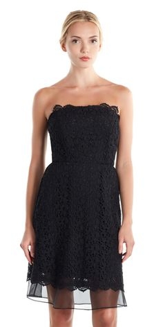 Nyomi Dress - subtle but sexy lace dress for your holiday cocktail party.
