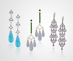 Glamorous dresses require equally glamorous jewels, from their fine jewelry collection.