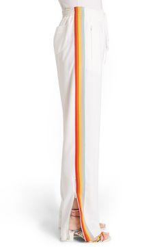 Chloé Rainbow Stripe Track Pants