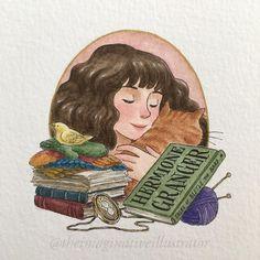 "Melody Howe on Instagram: ""Her-mo-ninny  #harrypotter #hermionegranger #fanart #31daysofharrypotter #31daysofharry #harrypotterfanart #potterportraits #wizardingworld…"""