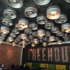 Keg lighting | Freehouse Mpls