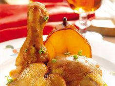 Pollo al vinagre de Jerez.