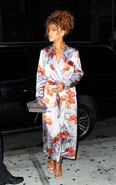 Je garde Je zappe : Rihanna en kimono