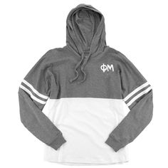 Now available Phi Mu Spirit Jer... Shop http://manddsororitygifts.com/products/phi-mu-hoodie-jersey-gl?utm_campaign=social_autopilot&utm_source=pin&utm_medium=pin