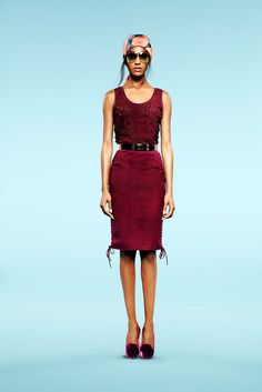 Emilio Pucci Resort 2013 Fashion Show - Jourdan Dunn