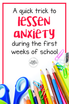 Dreading going back to school? Here's a trick to lessen your back-to-school anxiety and the real deal about how to make your students like you. Beginning Of School, New School Year, First Day Of School, Back To School Highschool, High School, Back To School Hacks, Going Back To School, School Stuff, School Ideas