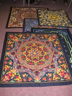 Applique Quilts made by Cairo Tentmakers
