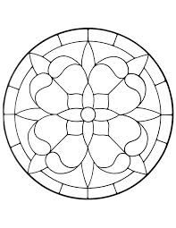 Image result for free stained glass patterns geometric
