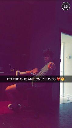 Hayes lookin cute like always I really wanna meet him MORE LIKE MY ONE AND…