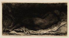 Teylers Museum: Liggende negerin (B205)