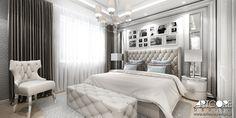 Piękna i luksusowa sypialnia. Klasyczna stylistyka sypialni nawiązuje do wyglądu całego domu. Więcej na www.artcoredesign.pl  #bedroom #glamour #glamourbedroom #sypialnia #interiordesignideas
