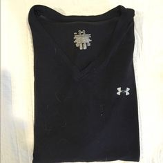 Under Armout Tank Black tank in a light weight fabric. Very breathable and perfect for any workout! Happy to bundle for a discount! Under Armour Tops Tank Tops