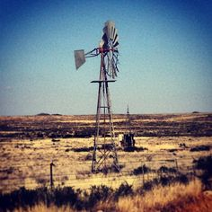 Windmills - Oh how pretty the Karoo landscape is! Photo by nielvandev Cafe Interior, Windmills, Africa Travel, Colour Schemes, Wind Turbine, Landscape Paintings, Watercolor Art, South Africa, Places To Visit