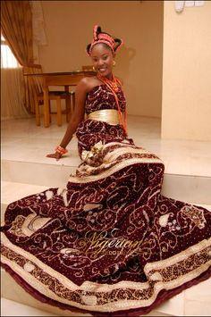 Edo Bride from Nigeria