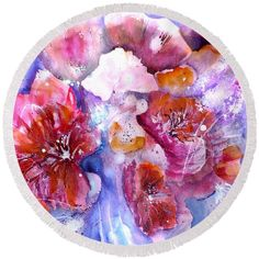 Shop for Wall Art, Home Decor, Tech Accessories, and More , Beach Towel Bag, Spring Flowers, Poppy Flowers, Practical Gifts, Abstract Flowers, Painting Techniques, Artist At Work, Tech Accessories, Colorful Backgrounds