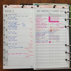 omg this picture has given me so many ideas - this is what I want on a page of my new notebook/bullet journal! she also has a weekly version which might be even better. can use for the things i'm trying to do every day, etc.!