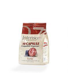 Caffee Nesp. Kompatibel Intenso Forte Coffee, Strong, Kaffee, Cup Of Coffee