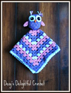 Owl Security Blanket